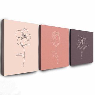Комплект Картин Цветы