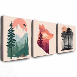Комплект Картин Лесной