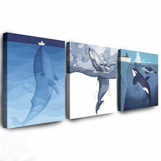 Комплект Картин Морские Животные
