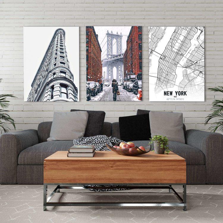 Комплект Картин Нью-Йорк