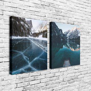 Комплект Картин Озеро