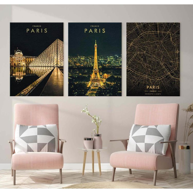 Комплект Картин Париж