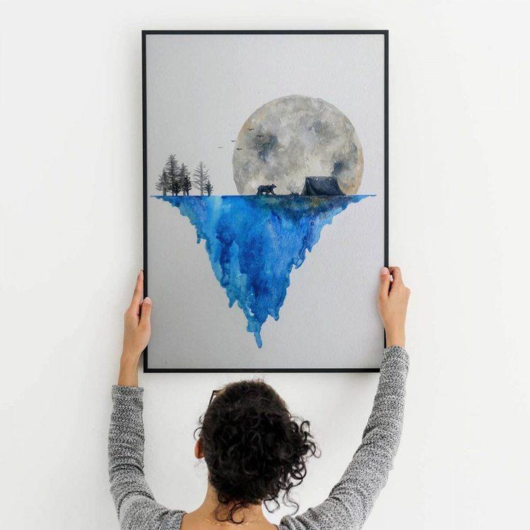 Картина Маленький Мир