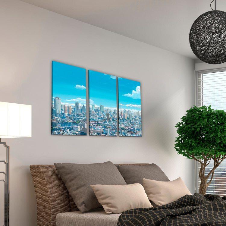 Картина Город (арт)