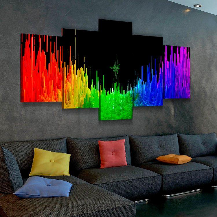Модульная картина Razer Rainbow