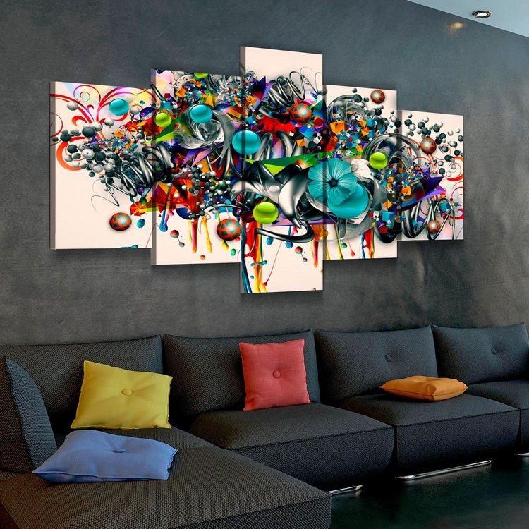Модульная картина Абстрактное Граффити