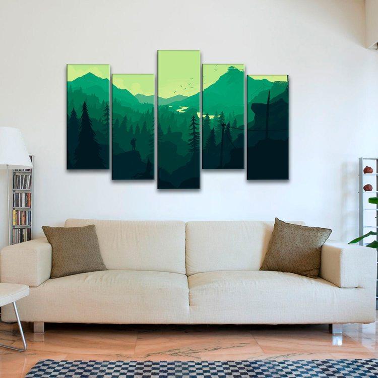 Картина Лес - Минимализм