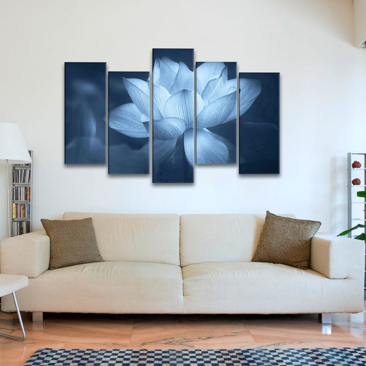 Модульная картина Лотос