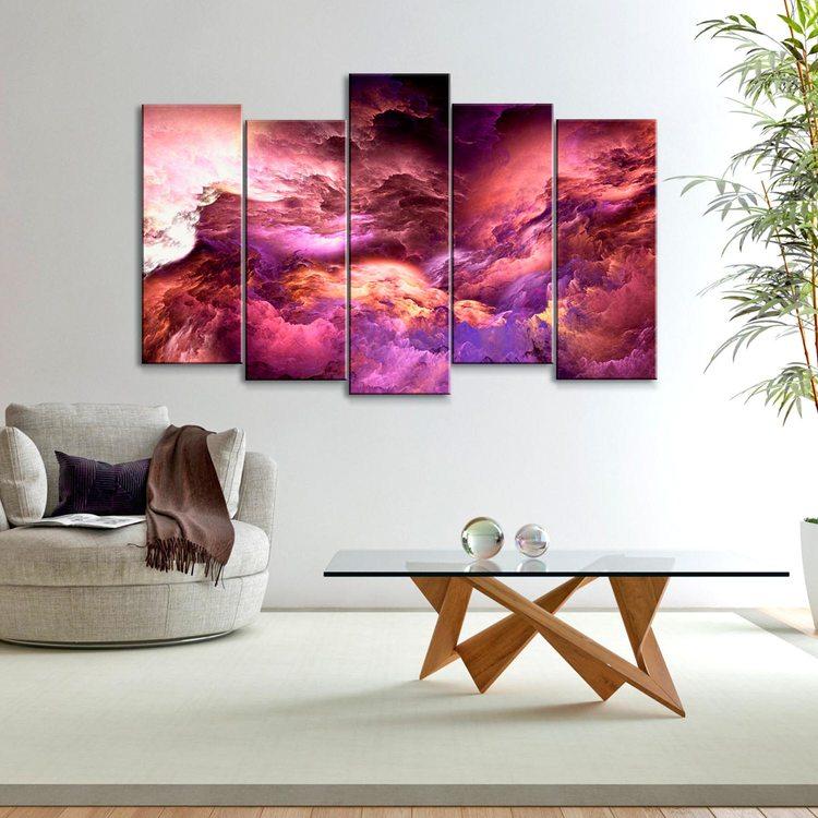 Картина Розовые Облака