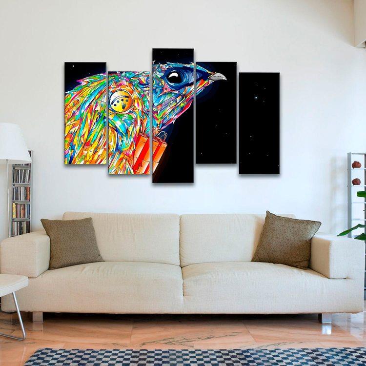 Картина Птица Психоделика