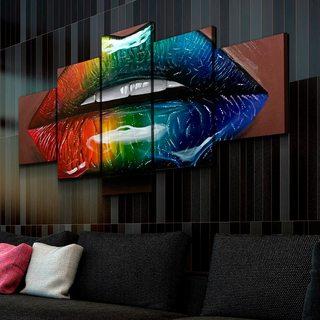 Картина Радужные Губы