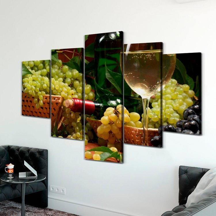 Картина Виноградная Корзинка