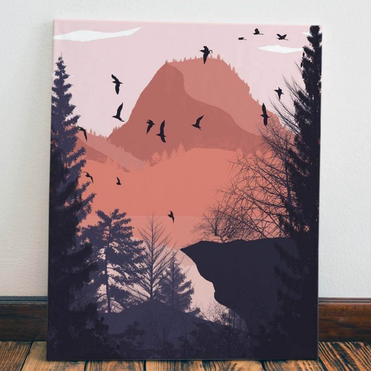 Картина Осенняя Абстракция