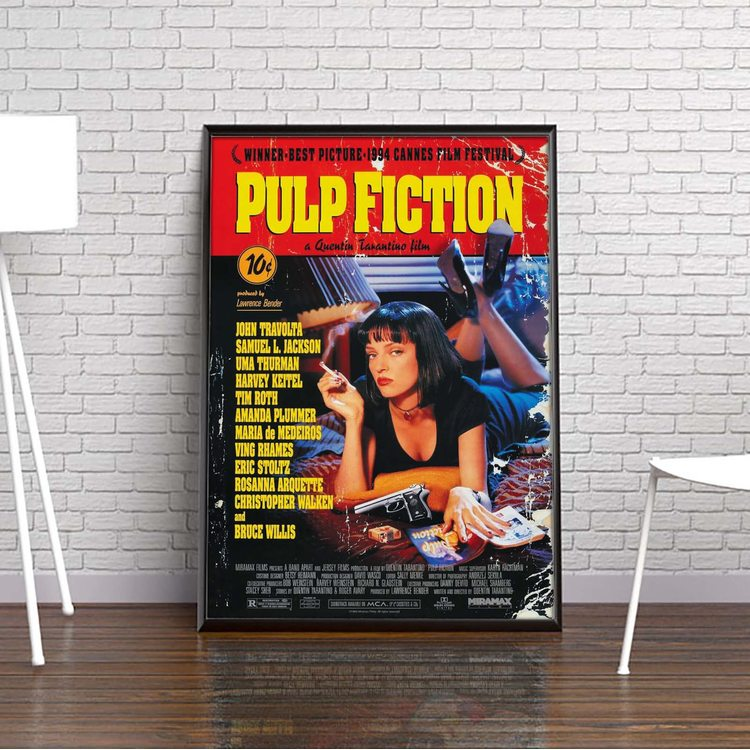 Постер Криминальное Чтиво 1994