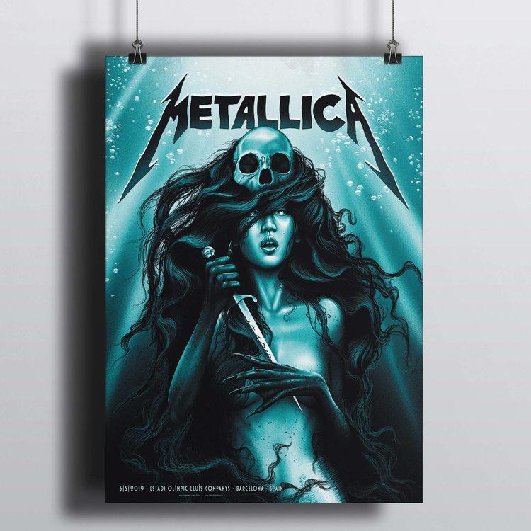 [HD]Постер Metallica - Chaos