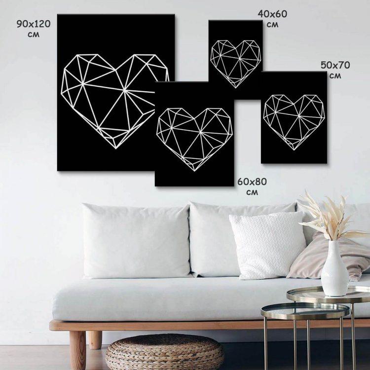 Картина Сердце Графика