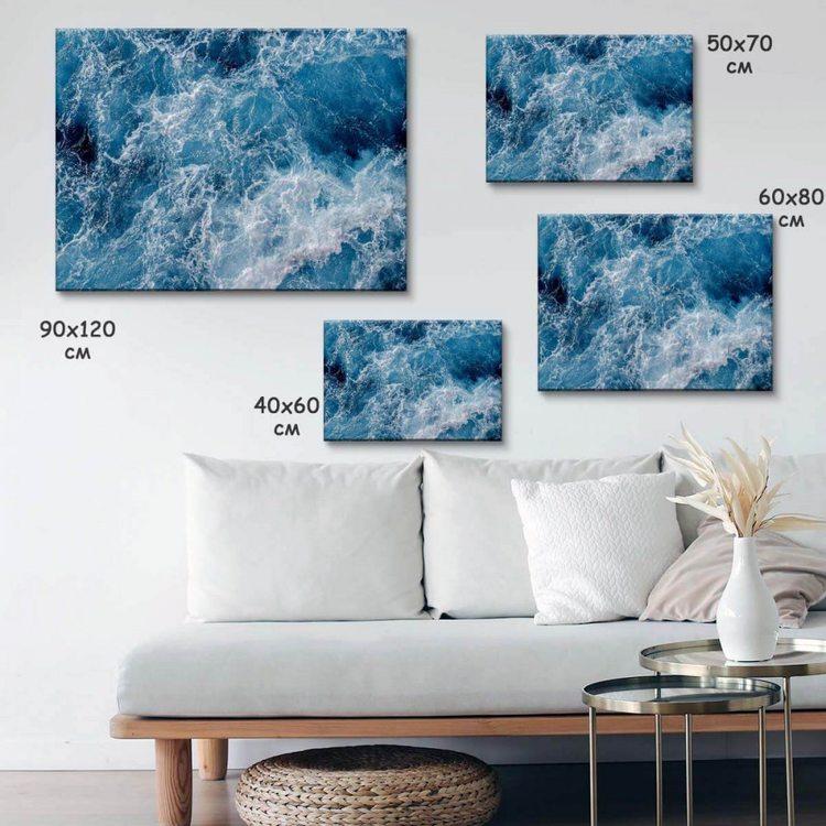 Картина Синие Волны