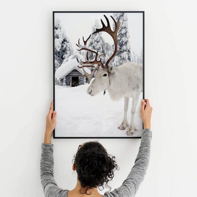 Картина Снежный Олень