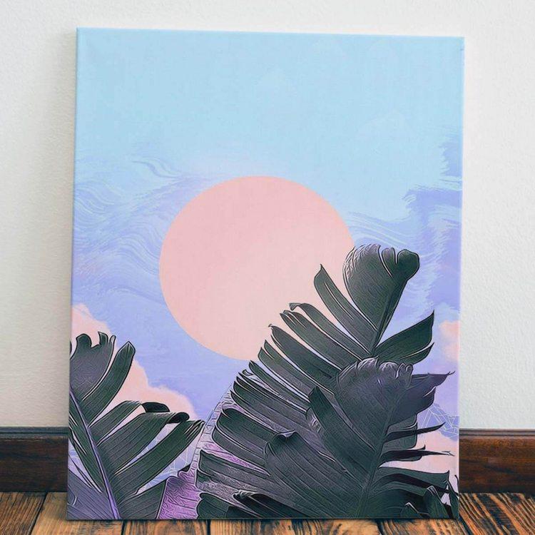 Картина Солнце В Листве