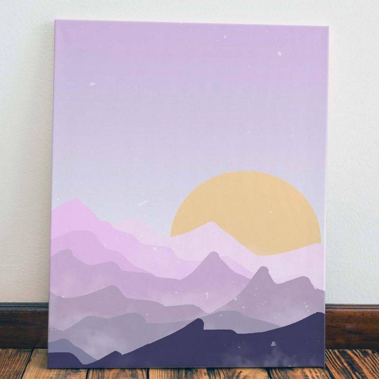 Картина Солнце В Облаках