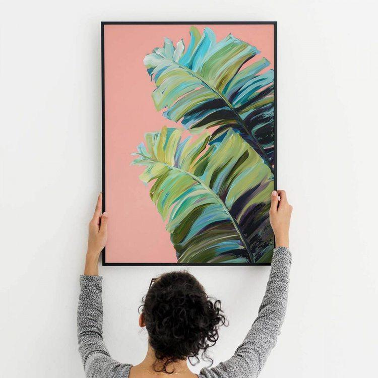 Картина Тропические Листья