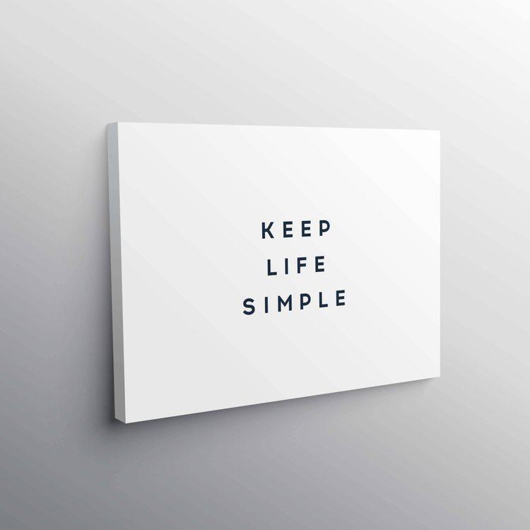 Картина Упрощайте Жизнь
