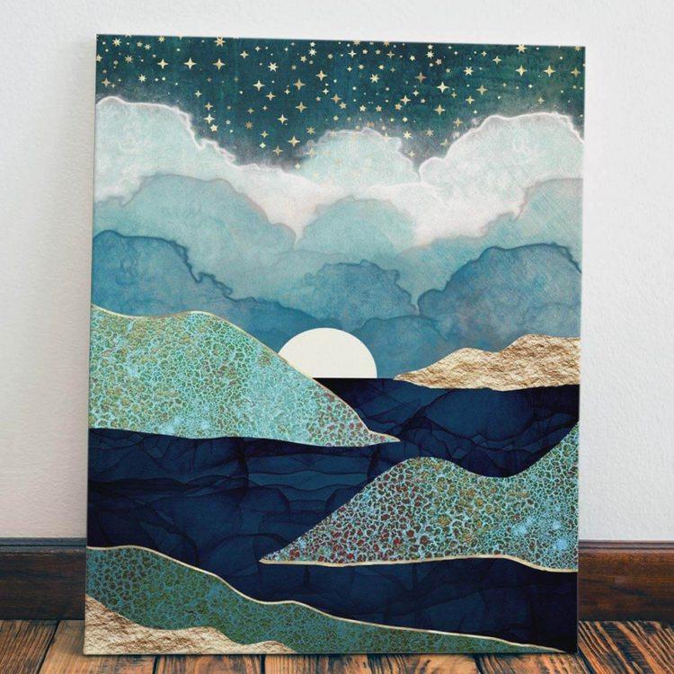 Картина Восход Луны