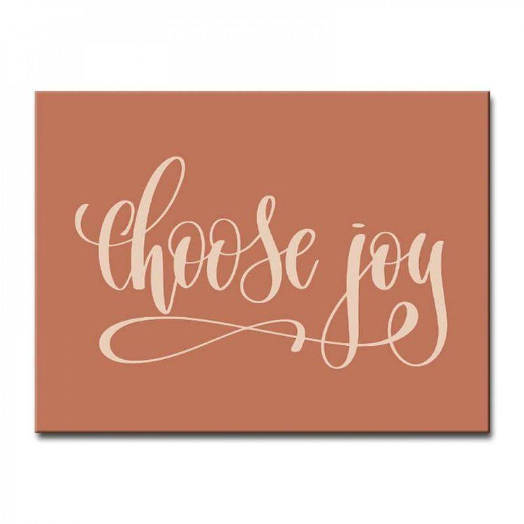 Картина Выбирай Радость