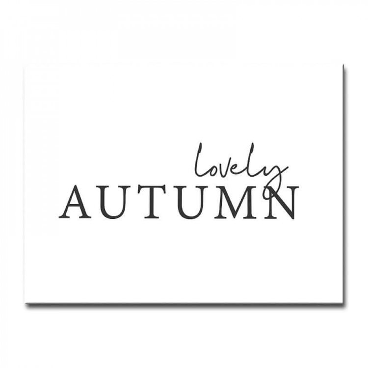 Картина Ждать Осень