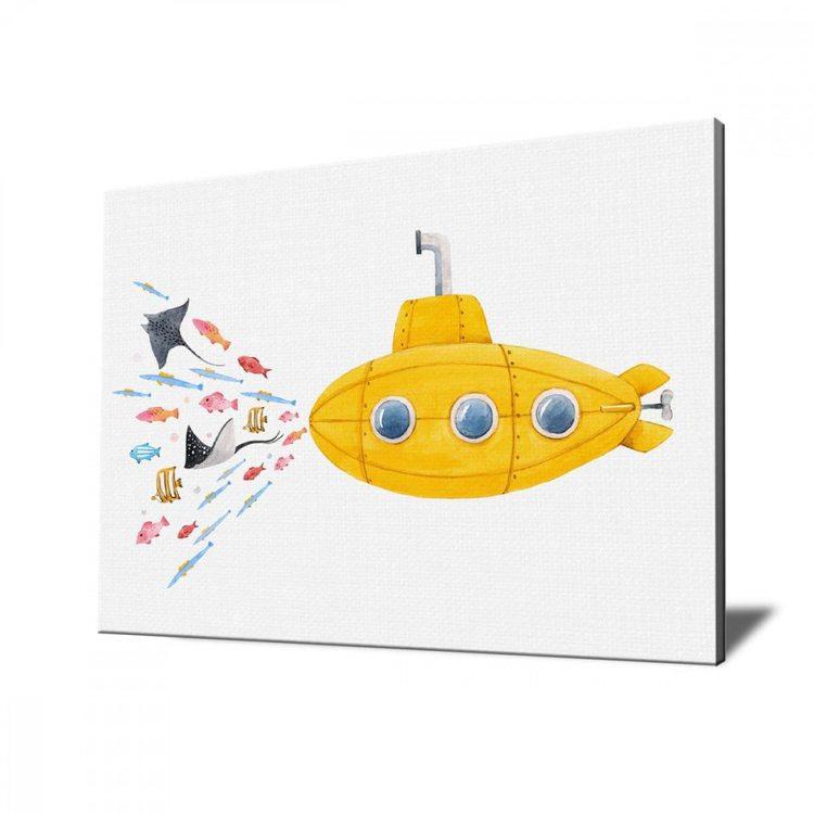 Картина Желтая Подводная Лодка