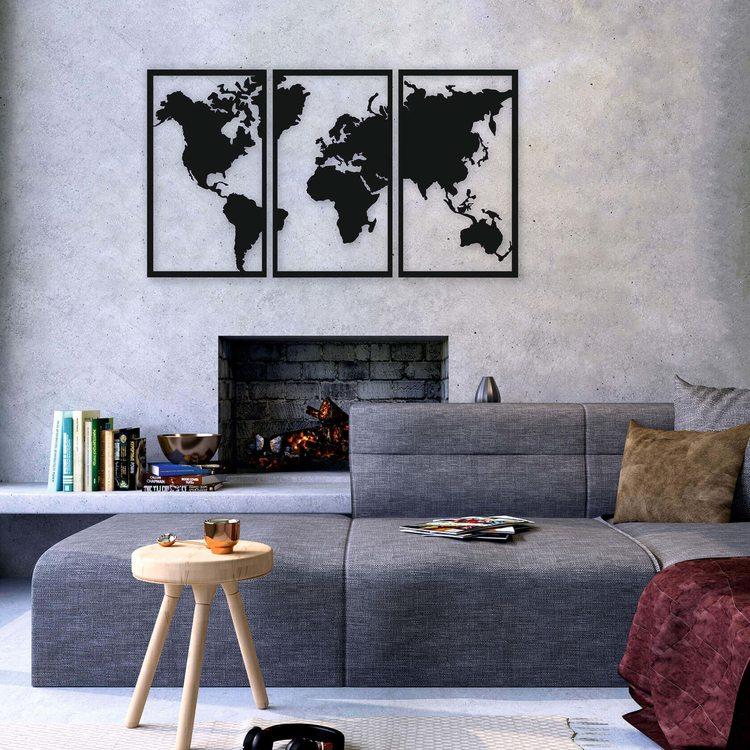 Карта Мира Модуль [120х68]