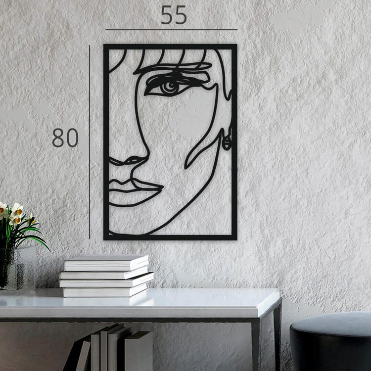 Панно Портрет [80х55]