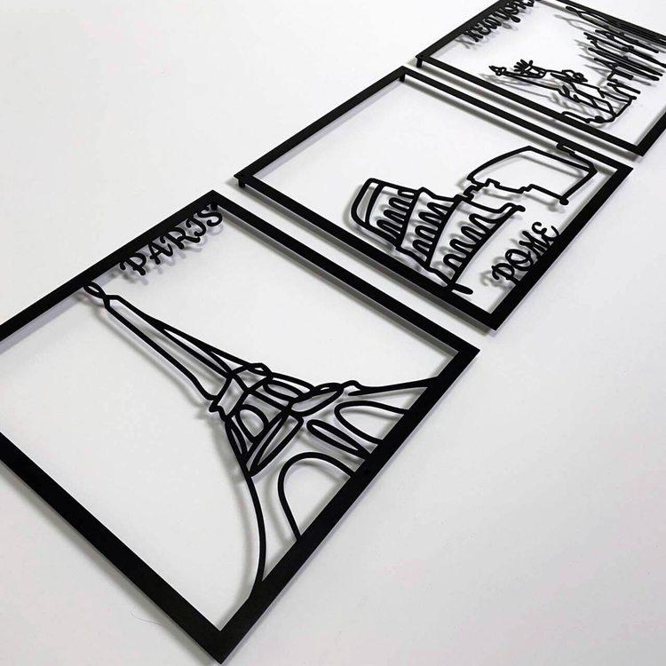 Триптих Города [100х31]
