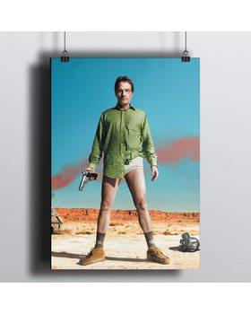 [HD] Постер Во все Тяжкие - Начало