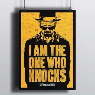 Постер Во все Тяжкие - I am the one who knocks