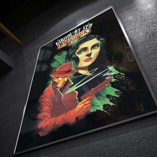 Постер Bioshock - Burial at Sea