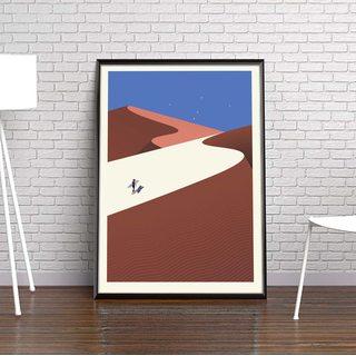 Постер Пустыня