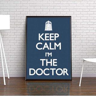 Постер Доктор Кто - Keep Calm