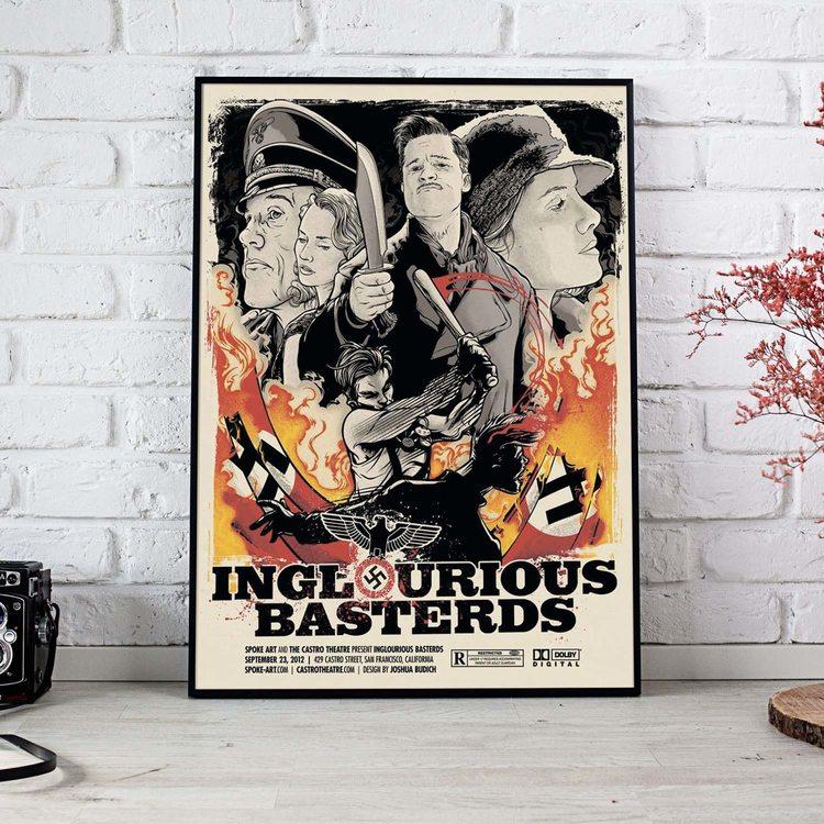 Постер Бесславные Ублюдки