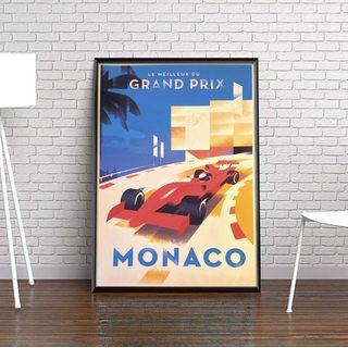Постер Монако