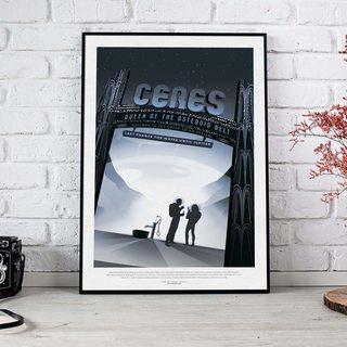 Постер NASA - Церес