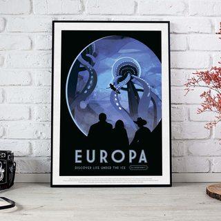 Постер NASA - Европа