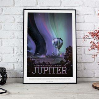 Постер NASA - Юпитер