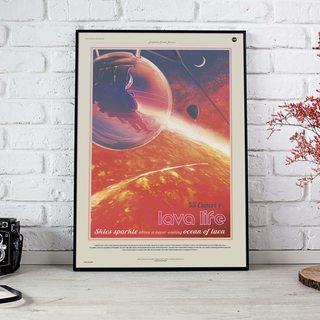 Постер NASA - 55 Рака e