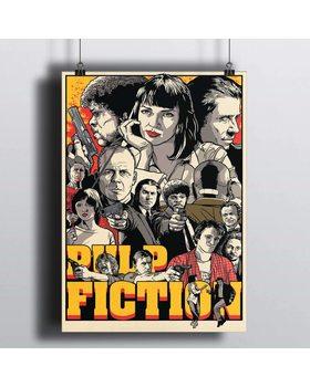 Постер Криминальное Чтиво