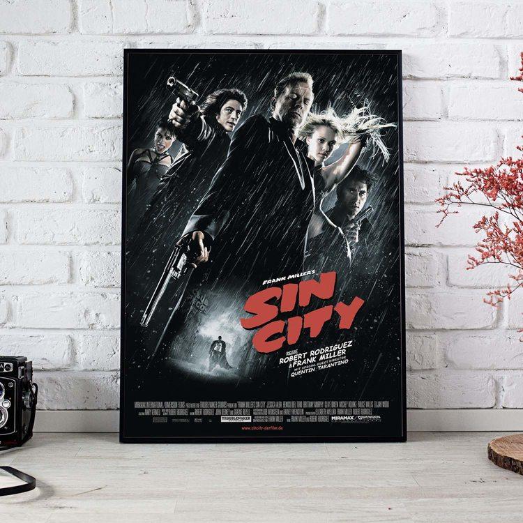 [HD] Постер Город Грехов