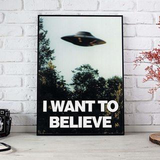 Постер Секретные Материалы