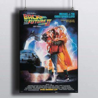 Постер Назад в Будущее - часть 2