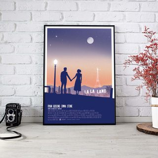 Постер Ла ла ленд