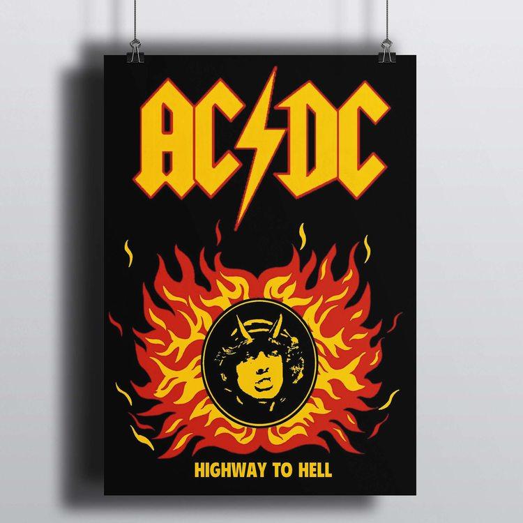 [HD]Постер AC/DC